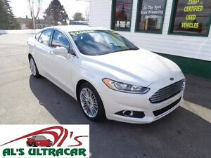 2016 Ford Fusion SE AWD Pearl White only $193 bi-weekly all in!