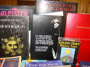 Numerous spiritual occult books, Crowley and more Kingston Kingston Area image 4