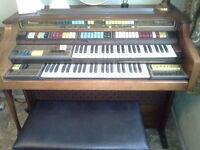 large electric organ