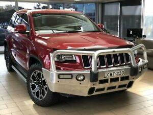 2014 Jeep Grand Cherokee WK MY15 Limited Red 8 Speed Sports Automatic Wagon Belconnen Belconnen Area Preview
