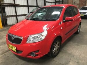 2010 Holden Barina TK MY10 Red 5 Speed Manual Hatchback Georgetown Newcastle Area Preview