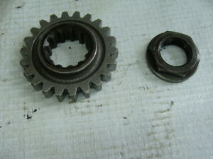 1991-YAMAHA-WR250ZB-OEM-PRIMARY-DRIVE-GEAR-LOT-NO-RESERVE