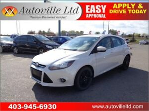 2013 FORD FOCUS TITANIUM LEATHER ROOF NAVIGATION B CAM