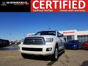 2015 Toyota Sequoia Platinum 5.7L V8 4X4 | FULLY LOADED | BLINDS