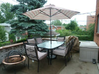 patio set and more