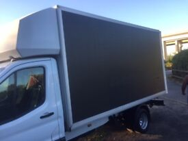 good condition luton box for transit, iveco, sprinter! great value!