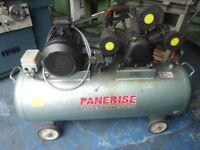 PANERISE MODEL W3090 -300 - 10 HP AIR COMPRESSOR