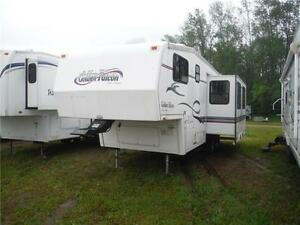 1999 Golden Falcon 28RLG 5th Wheel Trailer with Slideout Stratford Kitchener Area image 2