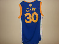 #30 STEPH CURRY GOLDEN STATE WARRIORS BLUE JERSEY SIZE XL