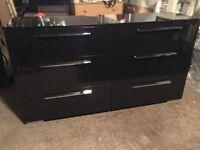 nouvelle commode noir / brand new black dresser