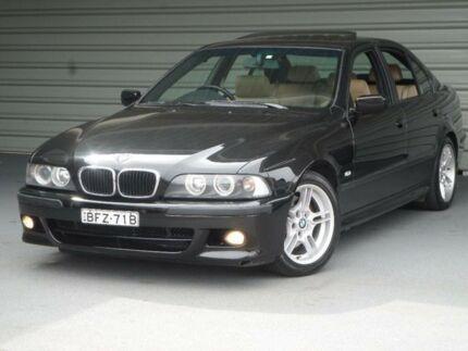 2002 BMW 530i E39 Executive Black 5 Speed Auto Steptronic Sedan Clyde Parramatta Area Preview
