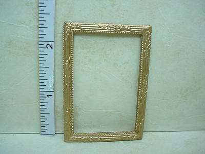 Dollhouse Miniature Picture Frame  - #37 Painted Metal 1/12th Scale