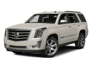 2015 Cadillac Escalade Platinum BLACK ON BLACK DVD LOW KM