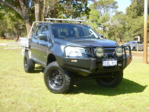 2012 Holden Colorado RG MY13 LX Blue 6 Speed Sports Automatic Cab Chassis