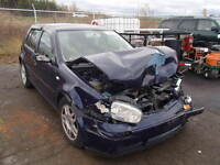 parting out 2002 VW golf