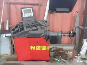 Wheel Balancer Corghi brand made in Italy best on market Terrey Hills Warringah Area Preview