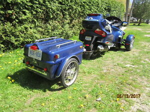 2010 CAN-AM SPYDER W TRAILER