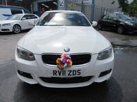 BMW 320d 3 Series M SPORT 2d 181 BHP be quick wont in stock long !! (white) 2011