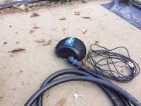 Pond pump with UV Filter