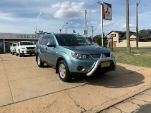 2007 Mitsubishi Outlander VR Blue Automatic Wagon Young Young Area Preview