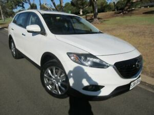 2013 Mazda CX-9 TB10A5 Grand Touring Activematic AWD White 6 Speed Sports Automatic Wagon Old Reynella Morphett Vale Area Preview