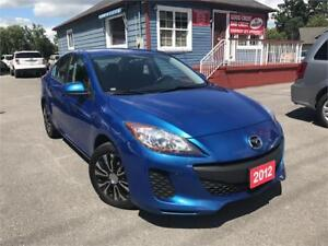 2012 Mazda Mazda3 GX | CAR LOANS AVAILABLE FOR ANY CREDIT