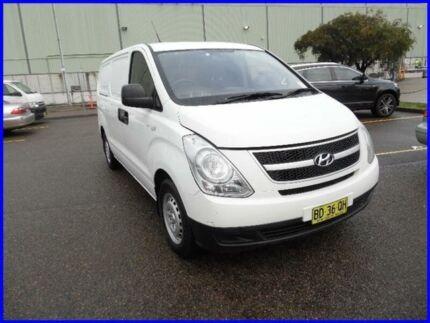 2009 Hyundai iLOAD TQ White 5 Speed Manual Van Homebush West Strathfield Area Preview