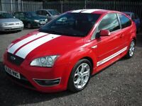 FORD FOCUS 2.5 ST-2 3d 225 BHP (red) 2006