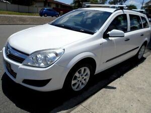 2008 Holden Astra AH MY08.5 60th Anniversary White 4 Speed Automatic Wagon Slacks Creek Logan Area Preview