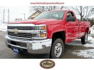 2015 Chev Silverado 2500 HD 4x4 Balance of Factory Warranty