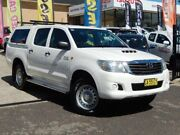 2014 Toyota Hilux KUN26R MY14 SR (4x4) White 5 Speed Automatic Dual Cab Pickup Greenway Tuggeranong Preview