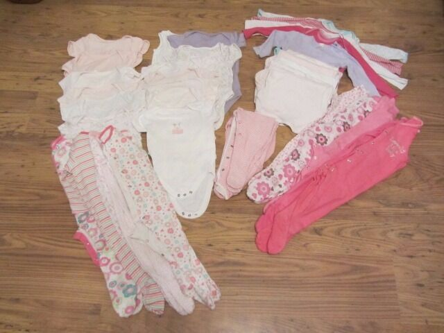 GIRLS BABY CLOTHES BUNDLE