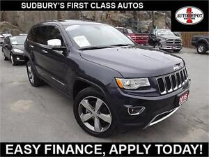 2016 Jeep Grand Cherokee LIMITED!! 4X4!! HEAT/COOLED LEATHER!!