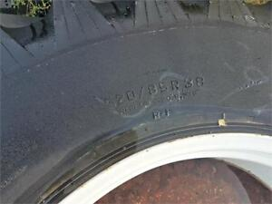TITAN High Traction Lug Radial Sprayer Tires - Set of 4
