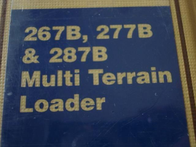 CATERPILLAR 267B 277B 287B LOADER WORKSHOP SERVICE MANUAL