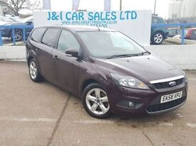 FORD FOCUS 2.0 ZETEC TDCI 5d 136 BHP A GREAT EXAMPLE INSIDE A (red) 2008