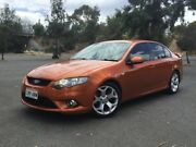 2011 Ford Falcon FG XR6 Turbo Orange 6 Speed Manual Sedan Mile End South West Torrens Area Preview