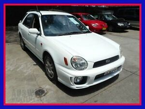 2000 Subaru Impreza N GX White Manual Hatchback Villawood Bankstown Area Preview