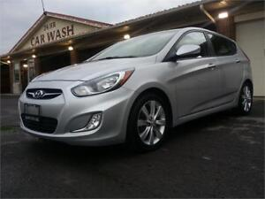 2013 HYUNDAI ACCENT, LOADED, POWER SUNROOF, EXCELLENT CONDITION!