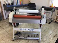 Easymount cold laminator
