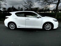 2013 13'reg Lexus CT 200h CVT S 1.8 ( 134bhp ) **59,000 miles**