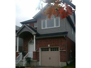 Gorgeous 3Bed +Den 3Bath House For Rent In Kitchener