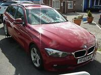 2012 BMW 3 SERIES 320d SE FULL LEATHER+SAT NAV NEW SHAPE