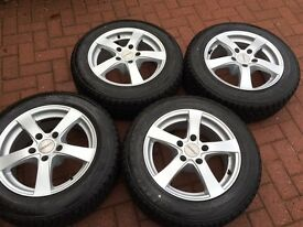 4x Winter wheels & Tyres. Fit BMW 3 series etc