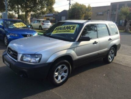 2003 Subaru Forester 79V MY04 X Silver 5 Speed Manual Wagon Lidcombe Auburn Area Preview