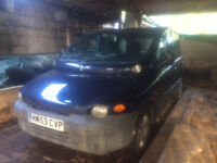 2003 Fiat Multipla breaking for spares parts repairs