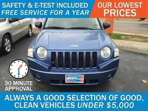 2007 Jeep Compass Sport 4WD - SUNROOF