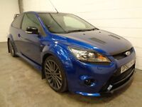 FORD FOCUS RS , 2009/59 REG , ONLY 34000 MILES + FULL FORD HISTORY, MOUNTUNE, MOT, FINANCE, WARRANTY