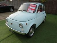 1972 Fiat 500L coupe 0.5 2dr COMPLETELY RESTORED...