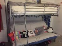 loft bed with double futon